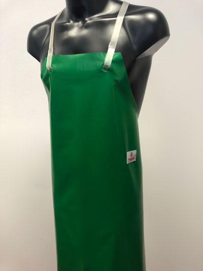 Gummischürze von BaKon in grün
